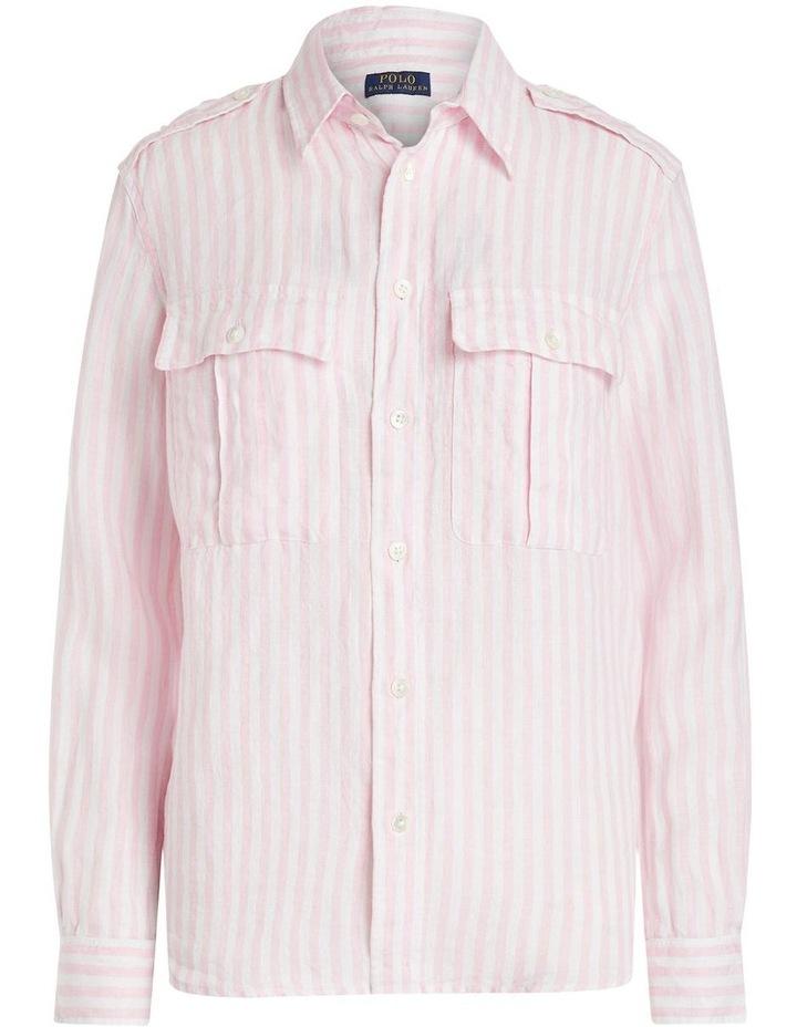 Patch-Pocket Linen Shirt image 4