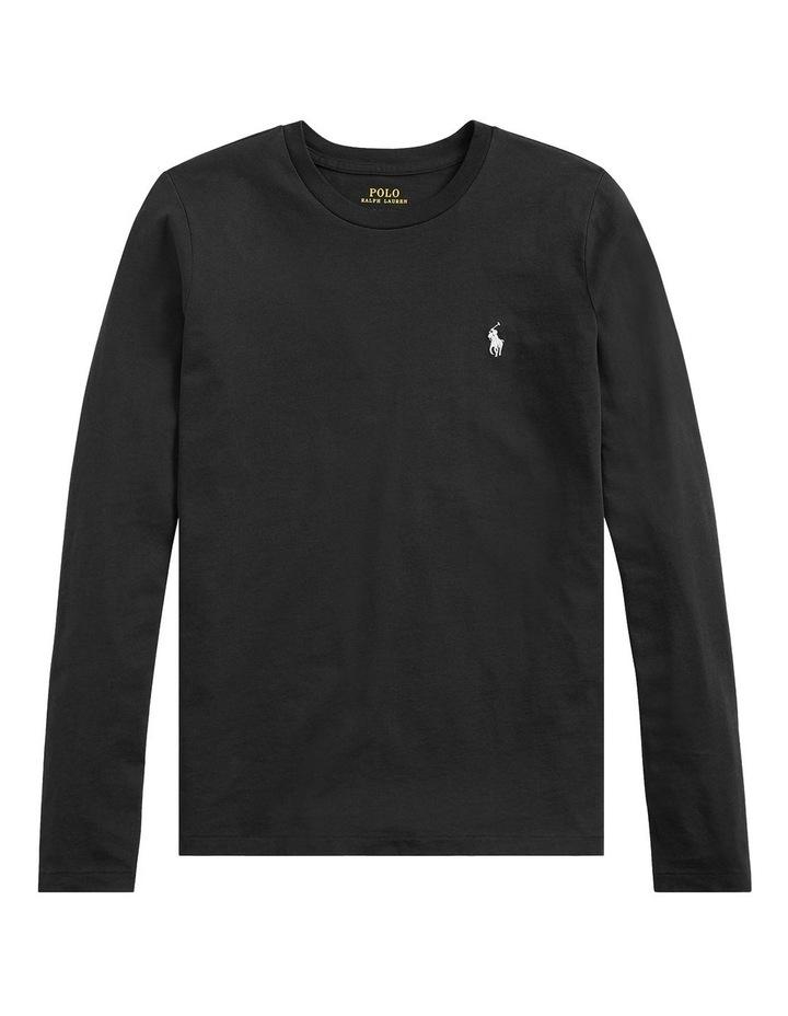 Cotton Jersey Long-Sleeve Tee image 4