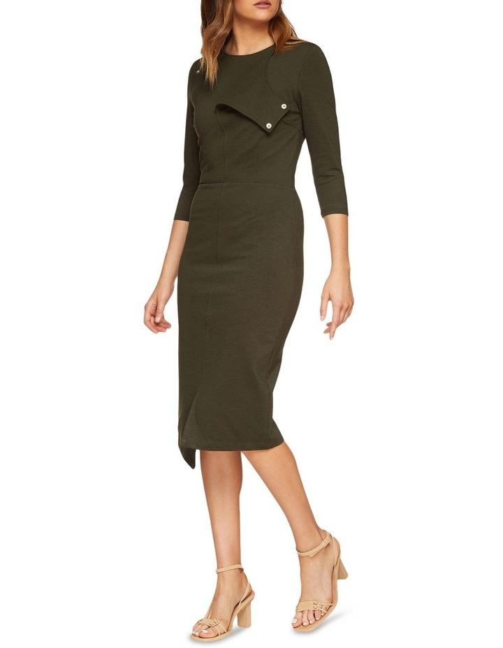 Kim Stud Detail Ponti Dress image 5