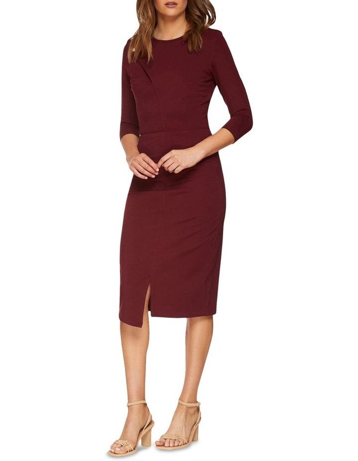Kim Stud Detail Ponti Dress image 2