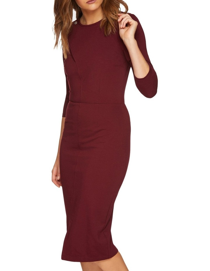 Kim Stud Detail Ponti Dress image 4