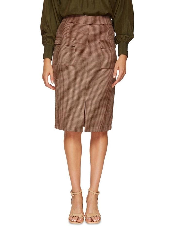 Alina Micro Check Skirt image 1