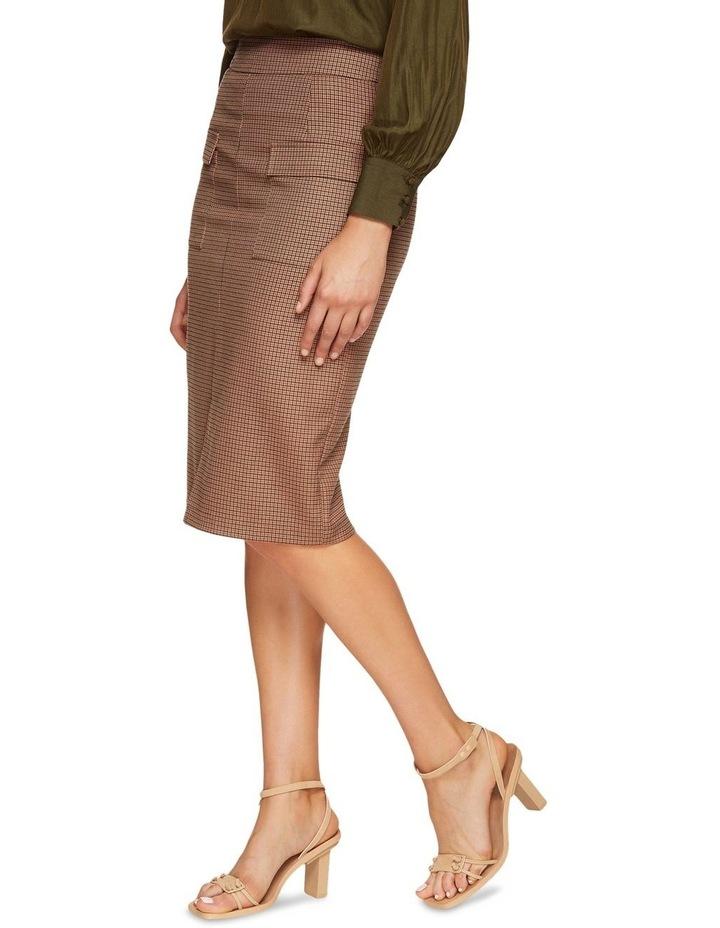 Alina Micro Check Skirt image 2