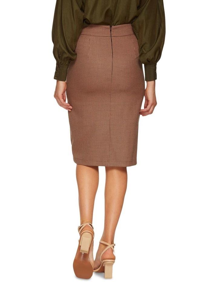 Alina Micro Check Skirt image 3