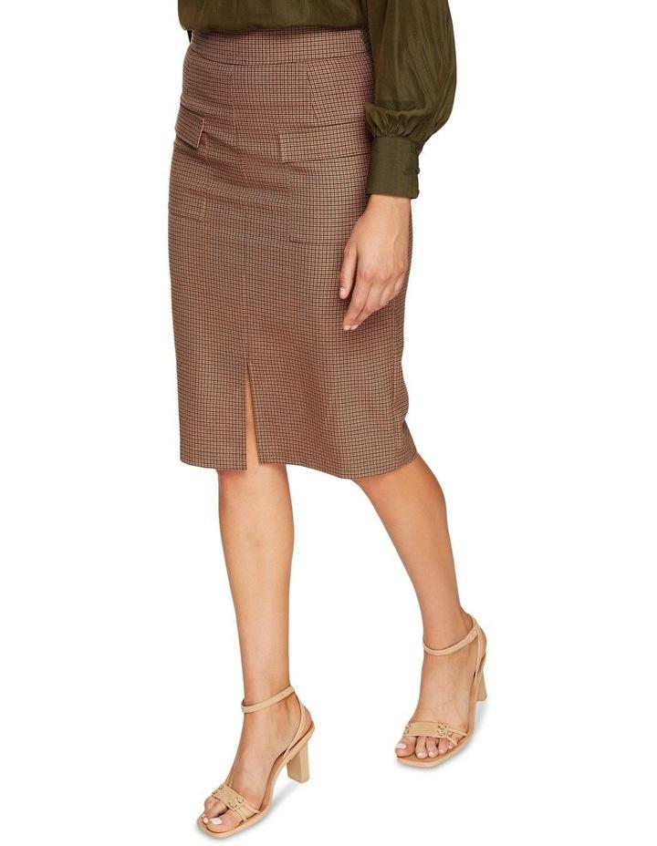 Alina Micro Check Skirt image 4