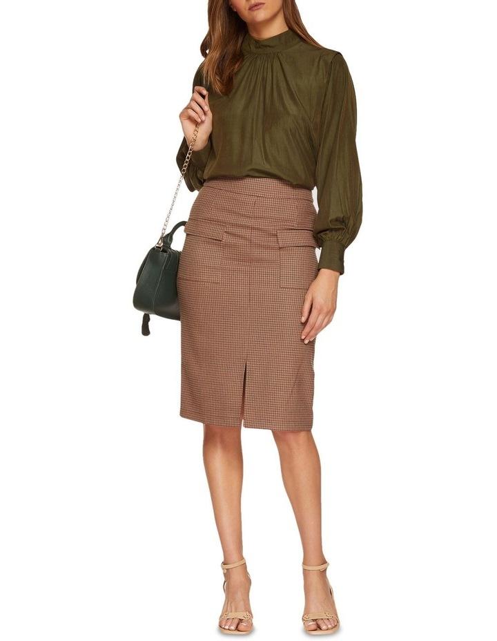 Alina Micro Check Skirt image 5