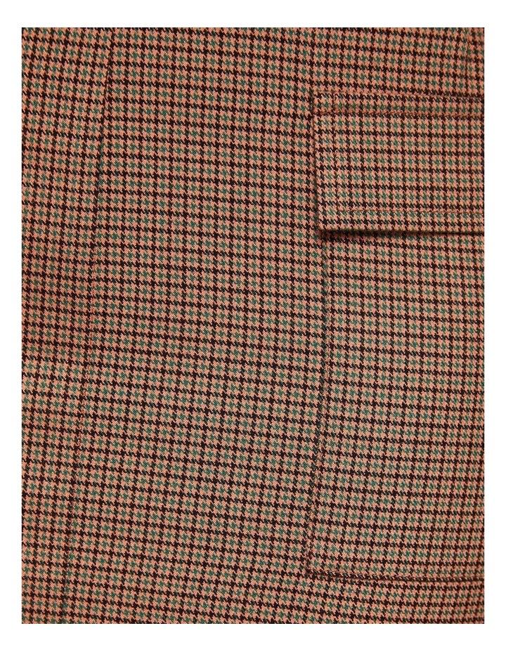 Alina Micro Check Skirt image 6