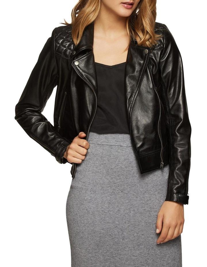 Emma Biker Leather Jacket image 1