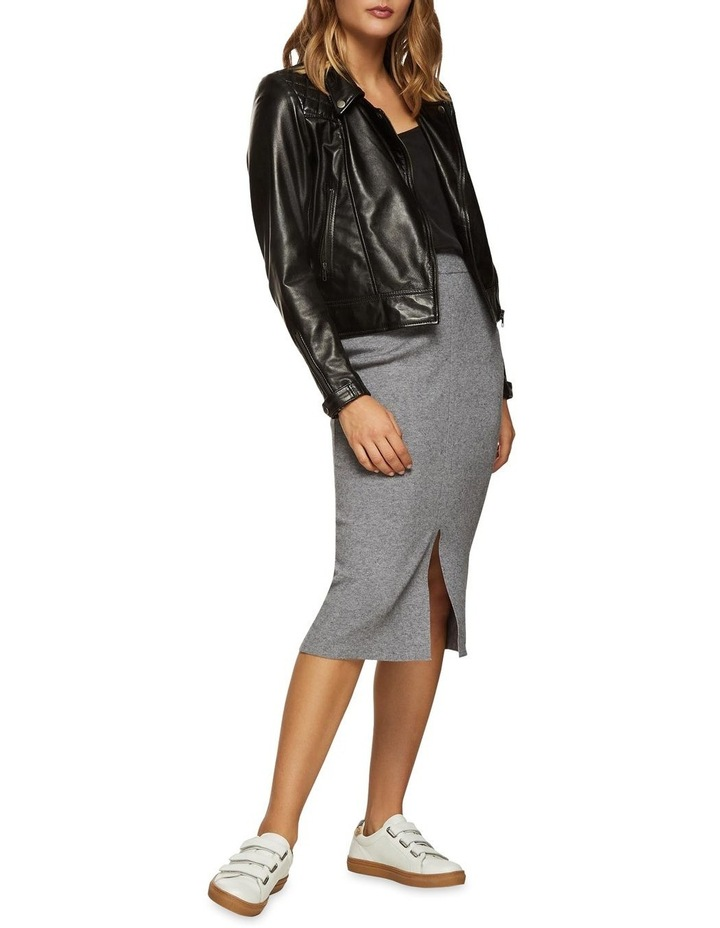 Emma Biker Leather Jacket image 5