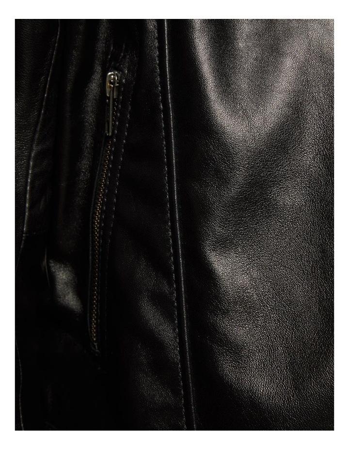 Emma Biker Leather Jacket image 6