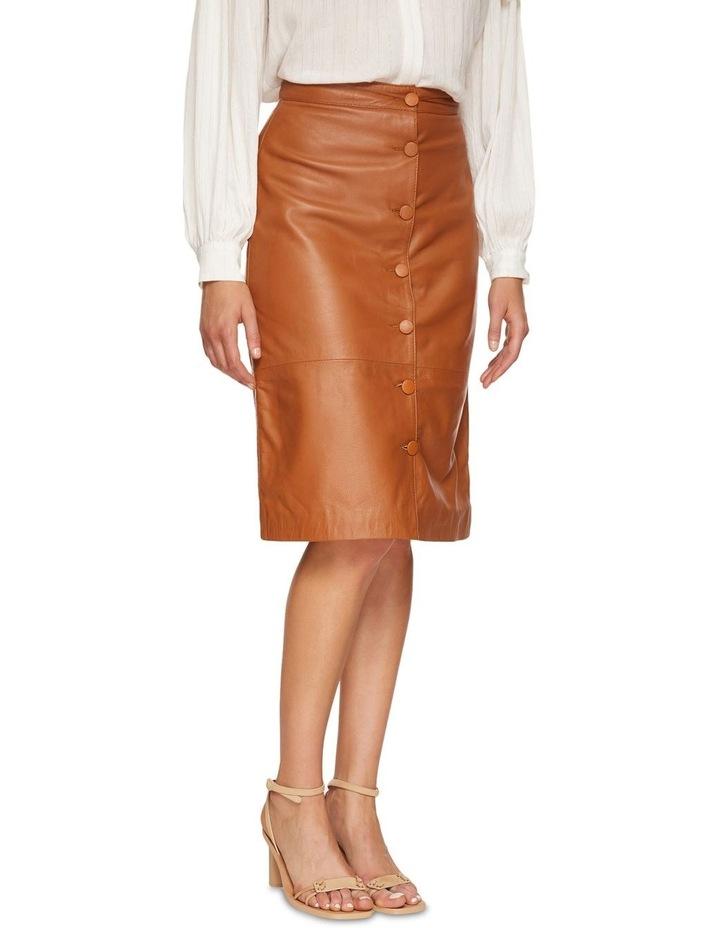 Gigi Leather Skirt image 2