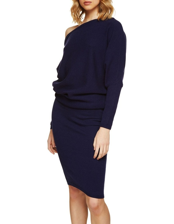 Emma Knitted Boatneck Dress image 2