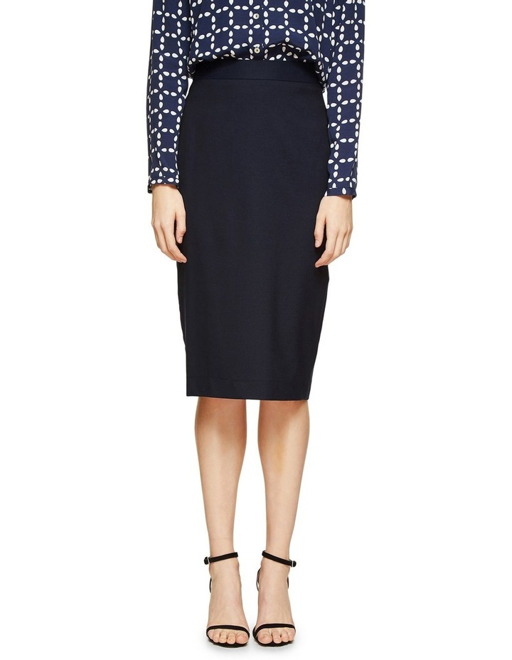 Peggy Wool Suit Skirt image 1
