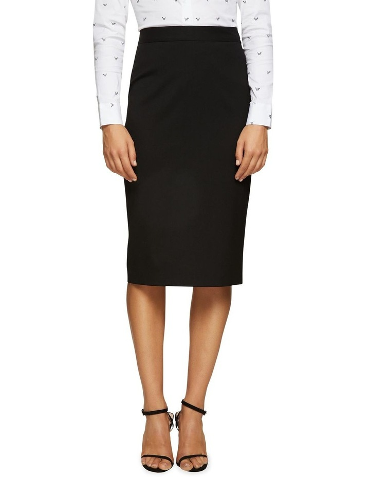 Peggy Eco Black Suit Skirt image 1
