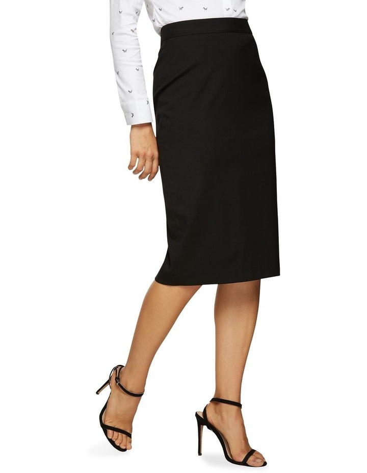 Peggy Eco Black Suit Skirt image 2