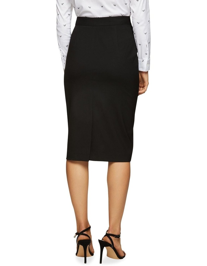 Peggy Eco Black Suit Skirt image 3