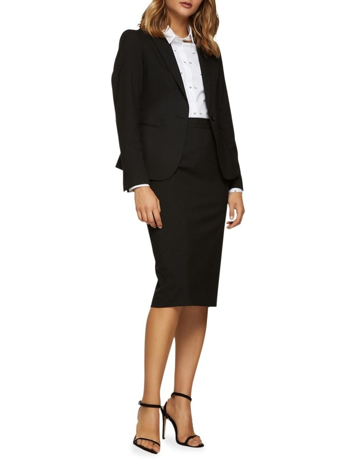 Peggy Eco Black Suit Skirt image 5