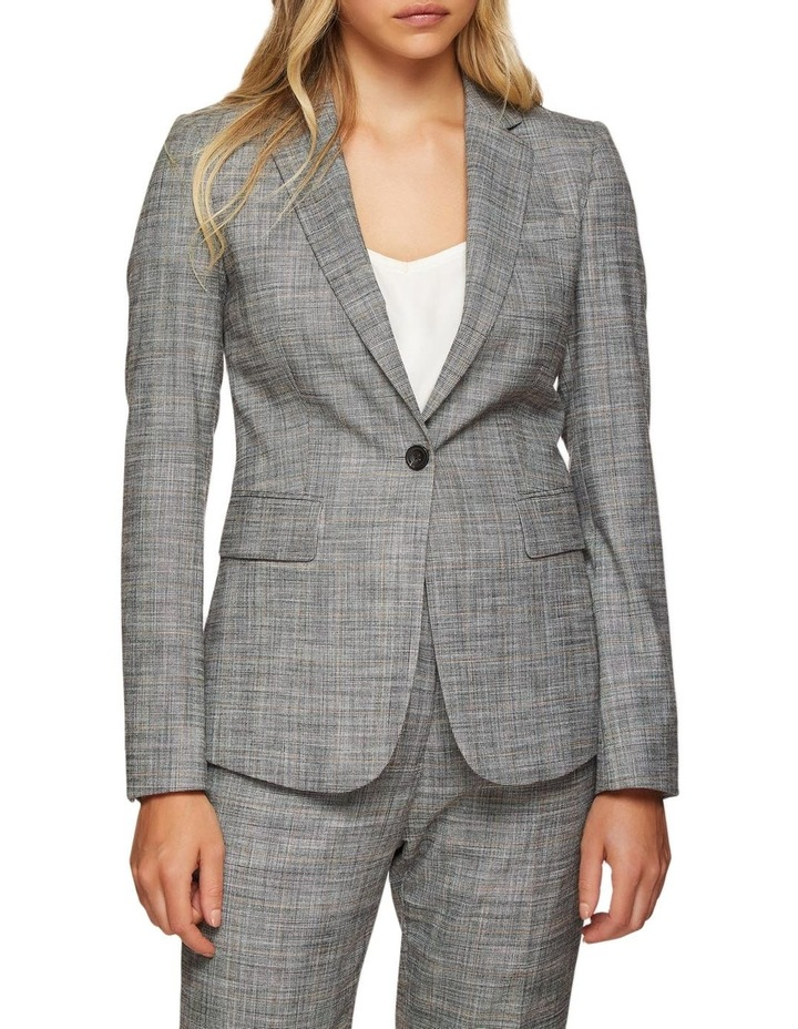Alexa Eco Checked Suit Jacket image 1