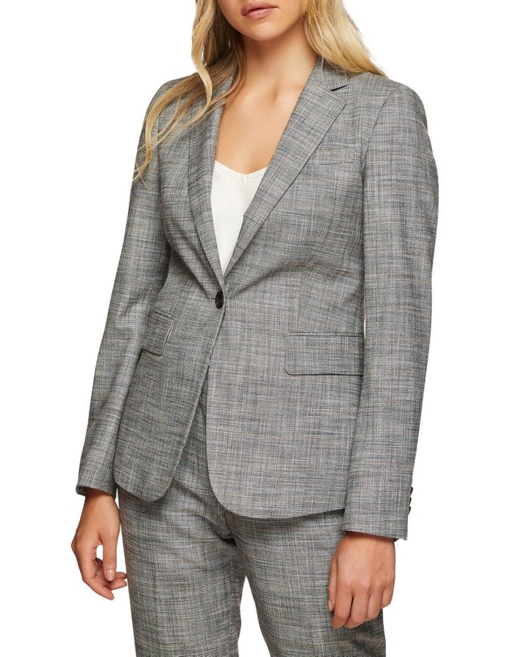 Alexa Eco Checked Suit Jacket image 2