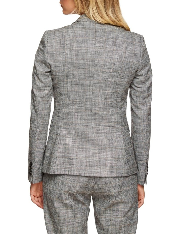 Alexa Eco Checked Suit Jacket image 3