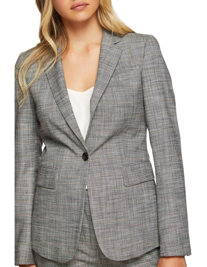 Alexa Eco Checked Suit Jacket image 4
