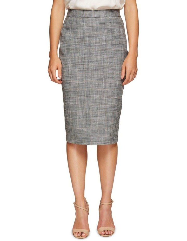 Peggy Eco Checked Suit Skirt image 1