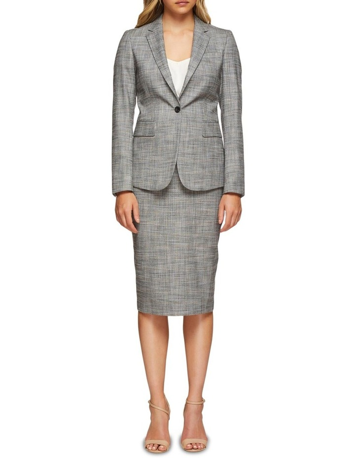Peggy Eco Checked Suit Skirt image 5
