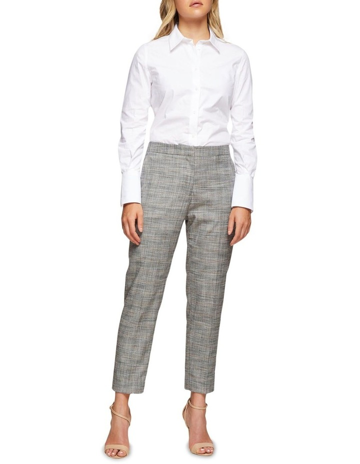 Charla Eco Checked Suit Trousers image 5