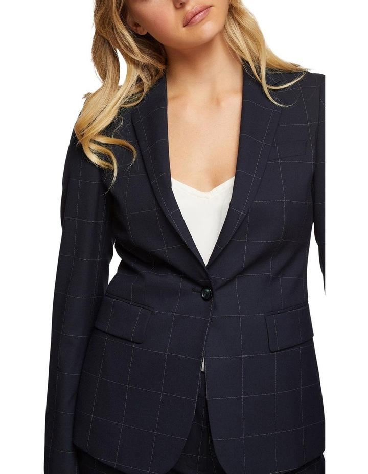 Alexa Eco Checked Suit Jacket image 4