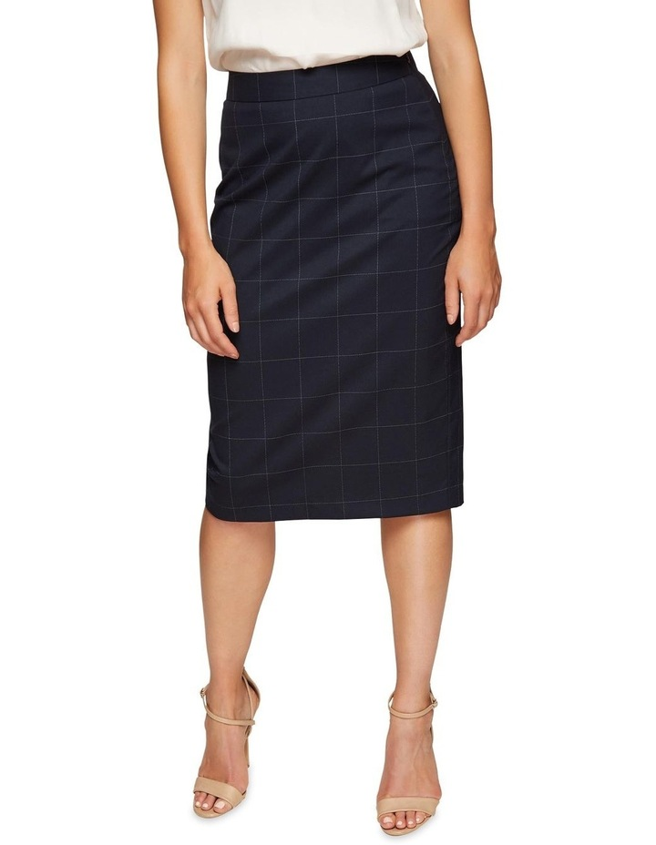 Peggy Eco Checked Suit Skirt image 4