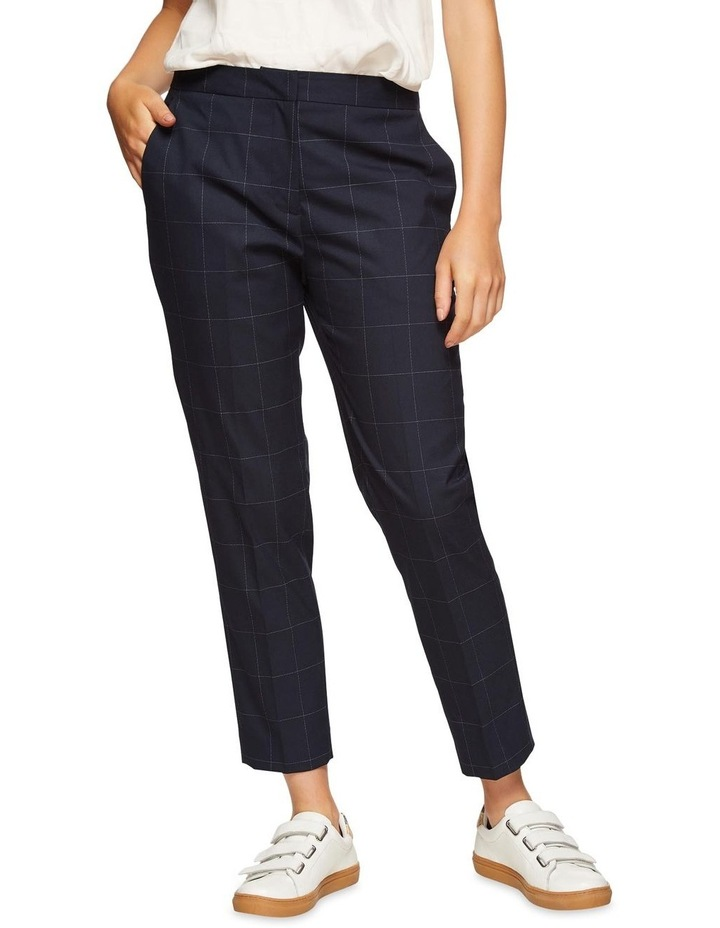 Charla Eco Checked Suit Trousers image 1