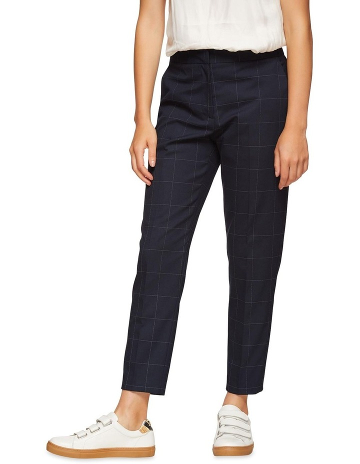 Charla Eco Checked Suit Trousers image 2