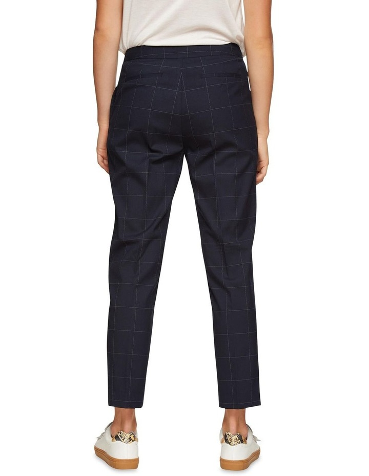 Charla Eco Checked Suit Trousers image 3