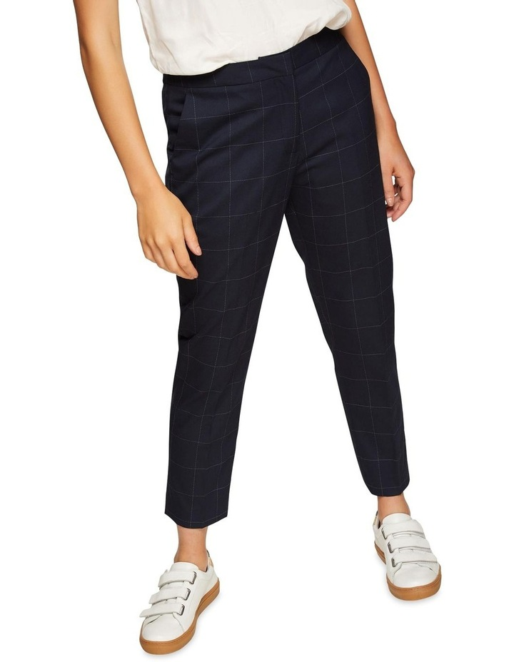 Charla Eco Checked Suit Trousers image 4