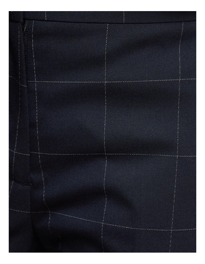 Charla Eco Checked Suit Trousers image 6