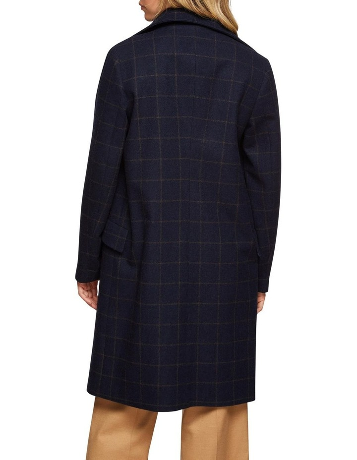 Ronnie Checked Coat image 3