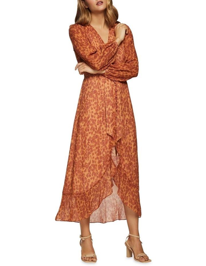 Solita Animal Print Midi Dress image 2