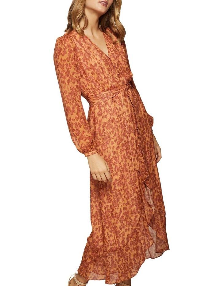 Solita Animal Print Midi Dress image 4