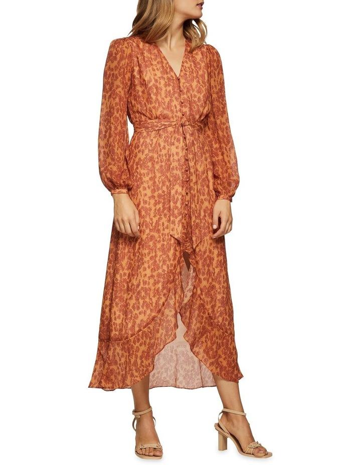 Solita Animal Print Midi Dress image 5