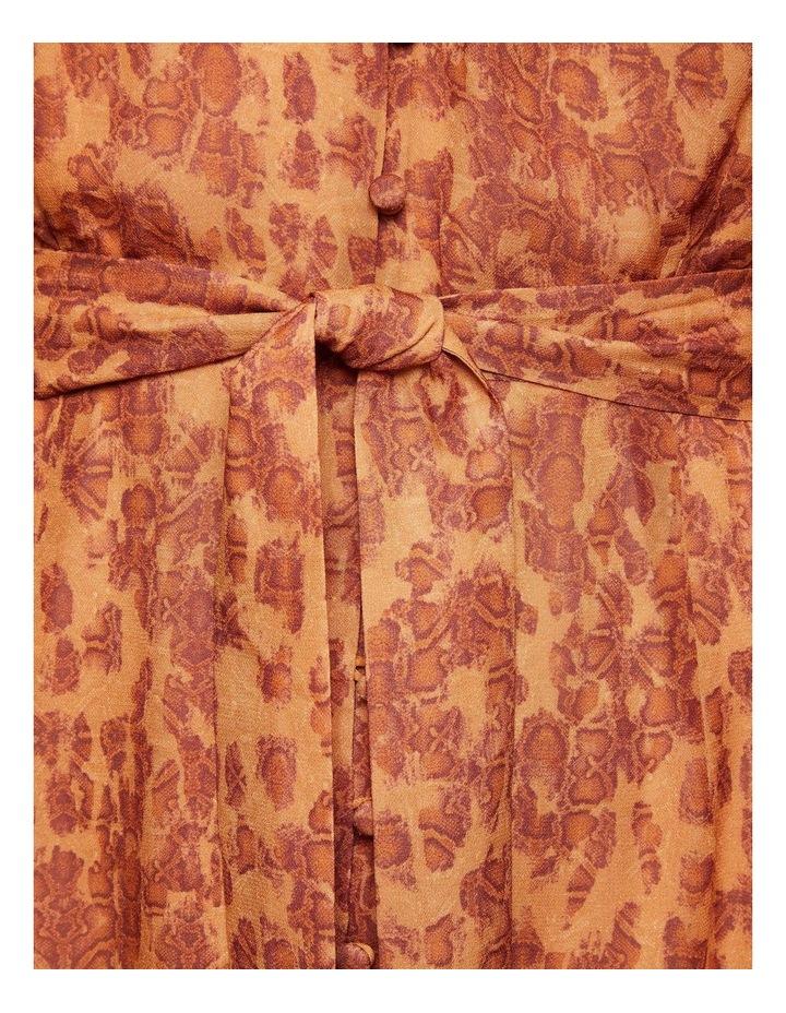 Solita Animal Print Midi Dress image 6