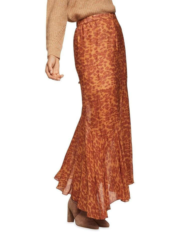 Sally Animal Print Skirt image 1