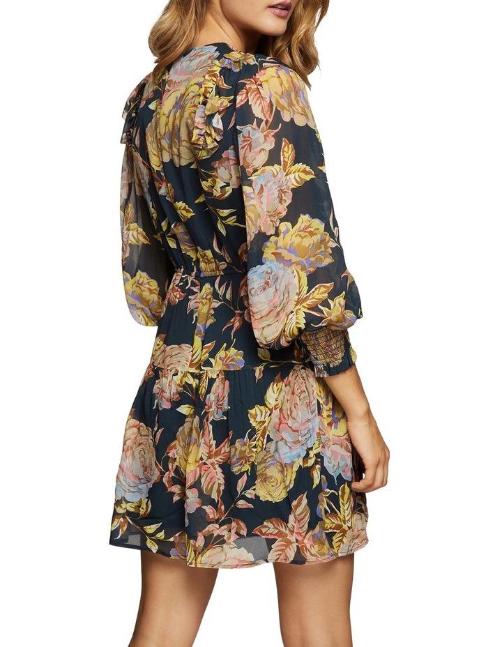 Locky Navy Floral Dress image 3