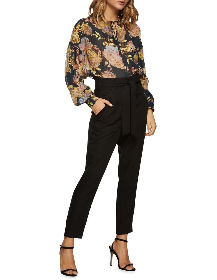 Mirabelle Navy Floral Tunic Top image 4