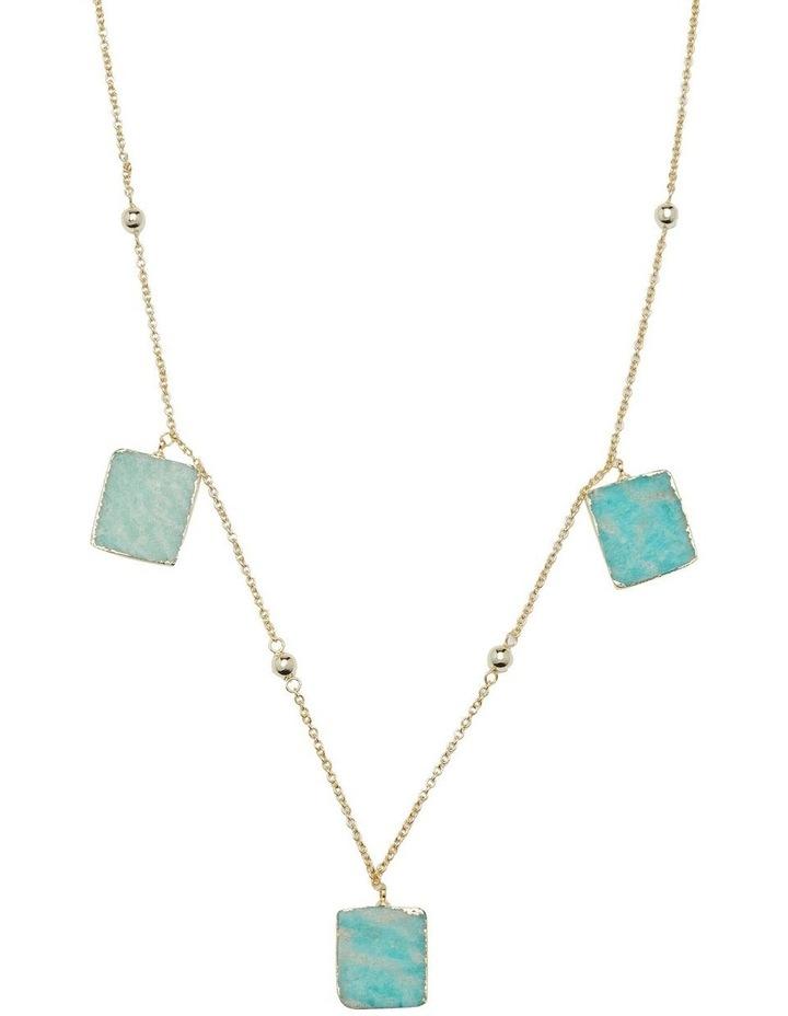 Vida Amazonite Stone Necklace image 1