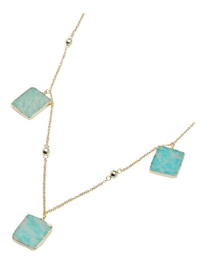 Vida Amazonite Stone Necklace image 2