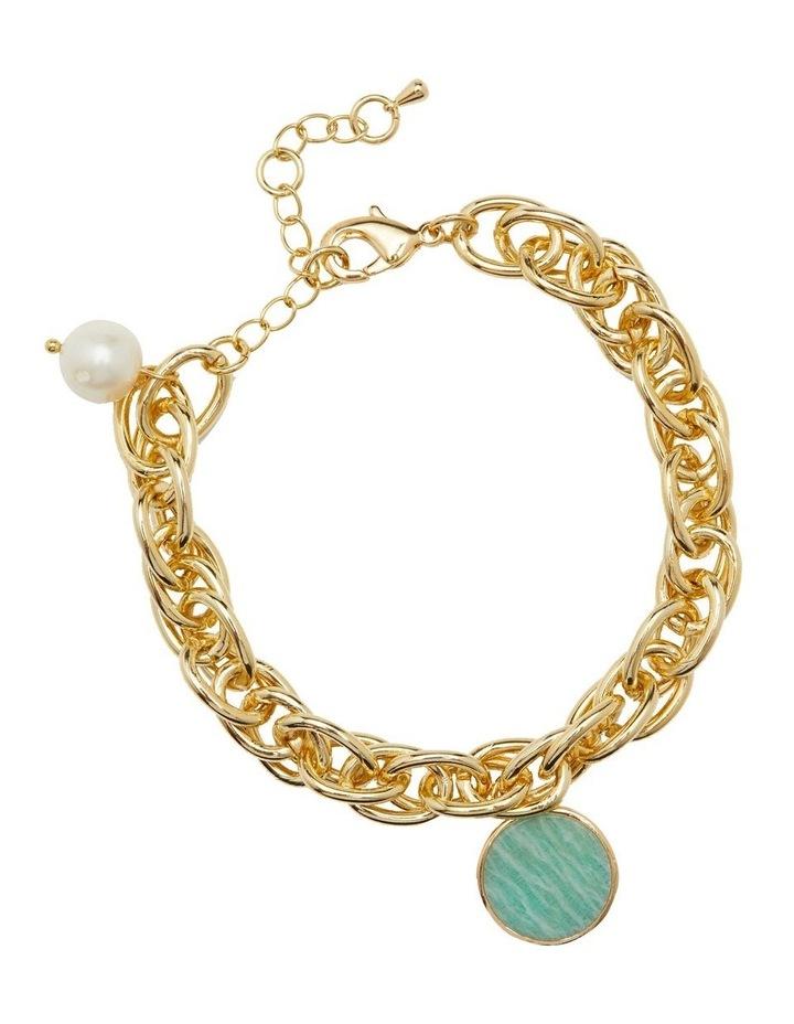 Lucia Amazonite Charm Bracelet image 1