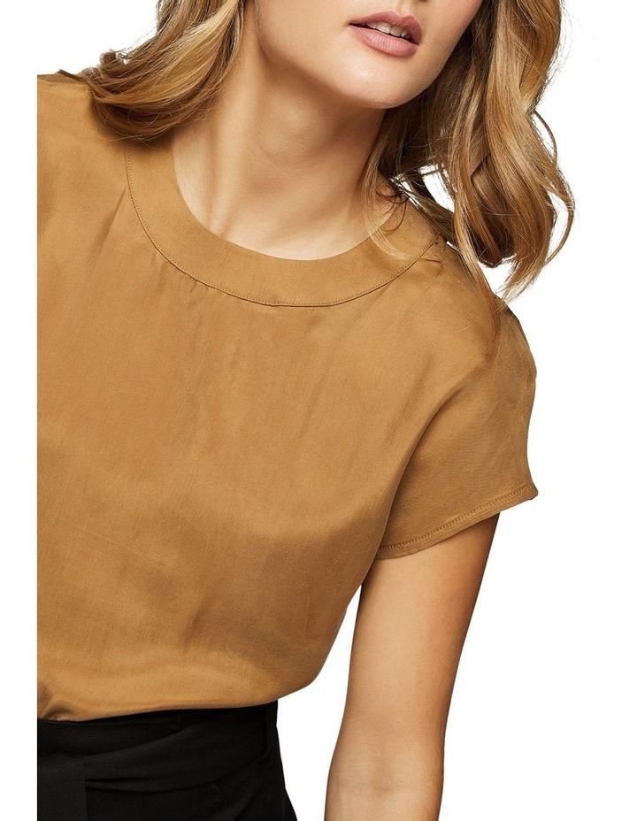 Lauren Woven Front T-Shirt image 4