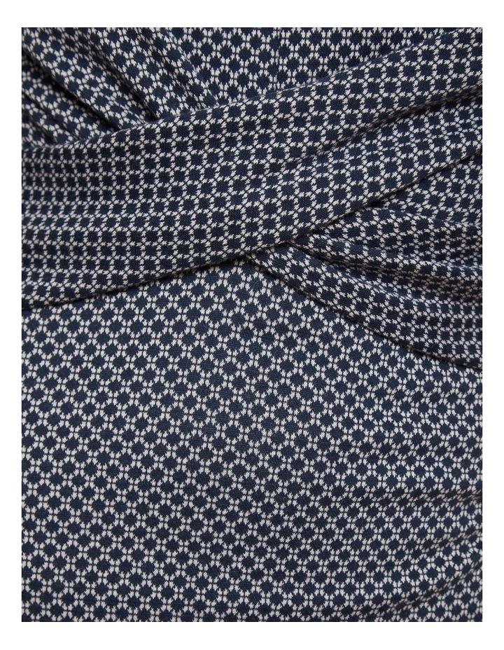 Annie Stretch Knit Geo Dress image 6