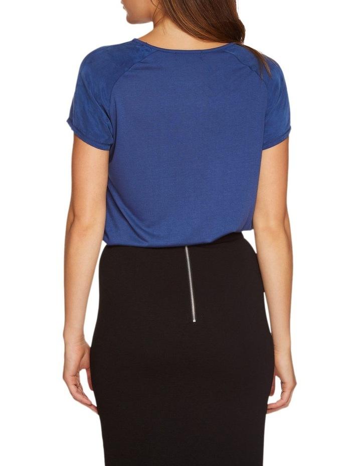 Katrina Woven Front T-Shirt image 3