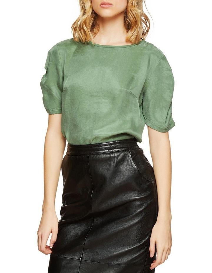 Claudette Woven Front T-Shirt image 2